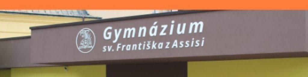 Dnes je online Deň otvorených dverí na Gymnáziu sv. Františka v Žiline